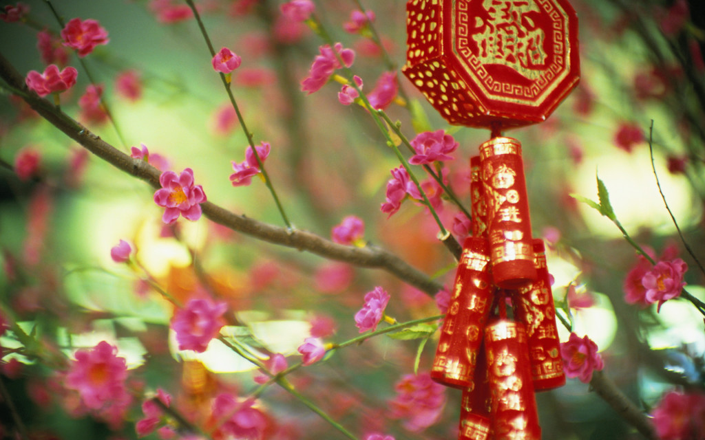 ????????? (New Year ornament saying ?bring in health and riches?, China)